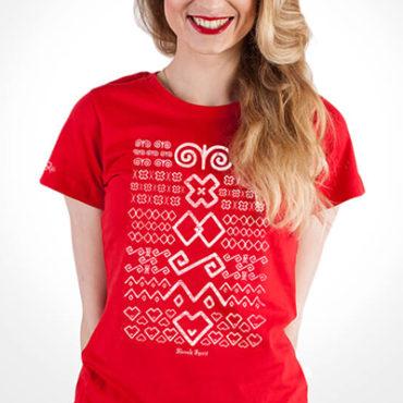 Dámske ľudové tričká