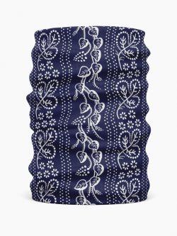 Multifunkčná folklórna šatka Modrotlač Horehronie