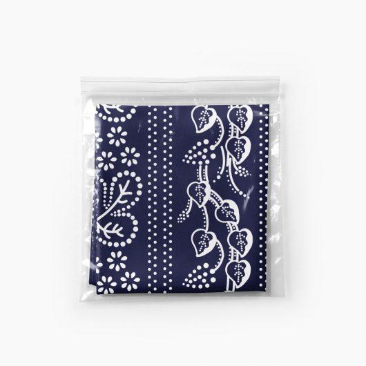 Multifunkčná folklórna šatka Modrotlač Horehronie balenie