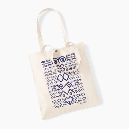 Eko taška s potlačou Čičmany prírodná béžová