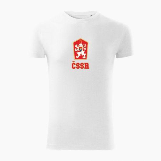 Pánske tričko ČSSR biele - Slovak Spirit