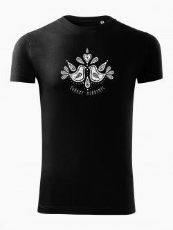Pánske tričko Švárny mládenec čierne - Slovak spirit