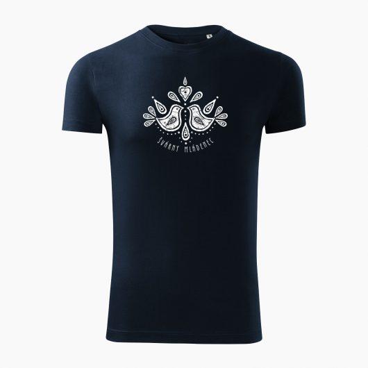 Pánske tričko Švárny mládenec tmavo modré - Slovak spirit