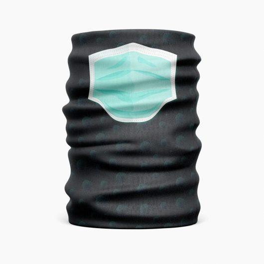 Tunelová šatka na tvár s potlačou Rúška