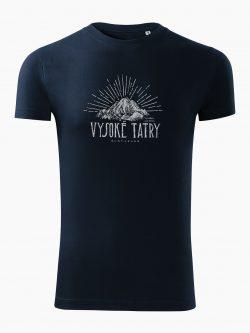 Pánske tričko Vysoké Tatry - Vysoká tmavo modré - Také naše