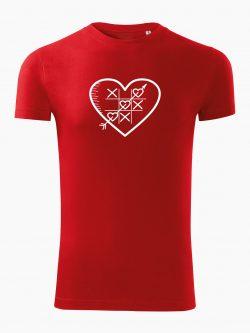 Pánske tričko Piškôrky červené - Také naše