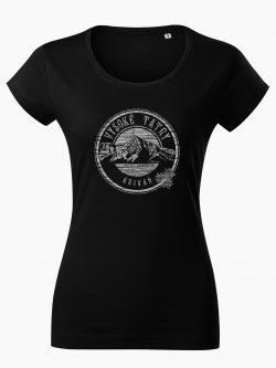Dámske tričko Vysoké Tatry - Kriváň čierne - Také naše